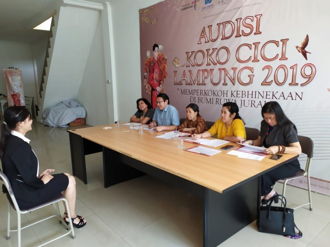 Audisi Koko Cici Lampung 2019 Perkokoh Kebhinekaan
