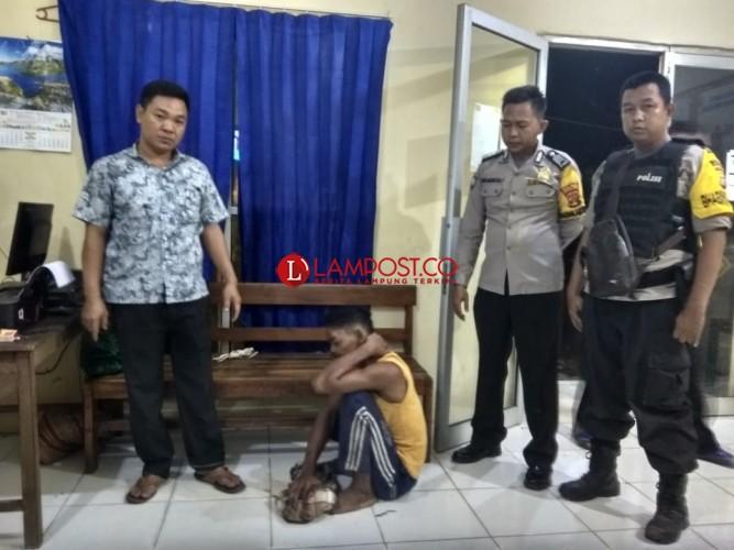 Ayah Bejat di Lampung Utara Tega Perkosa Anak Kandung