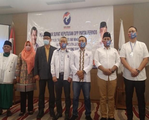 B1-KWK Partai Perindo untuk Nanang, Nessy, dan Pieter
