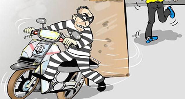 Sepeda Motor Raib Meski Pagar Rumah Dan Setang Terkunci