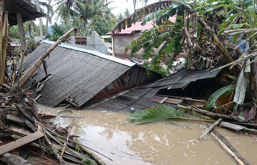 Pasca-Banjir Bandang, 9 Rumah Warga Kelumbayan Rusak Berat