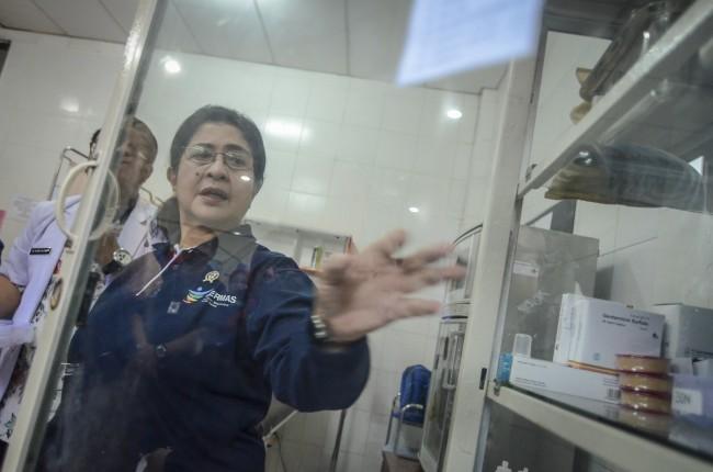 Menkses Minta Wisatawan Asing di Indonesia Diimunisasi Difteri