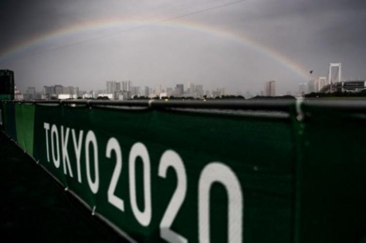 Badai Nepatrak Ganggu Sejumlah Laga Olimpiade Tokyo