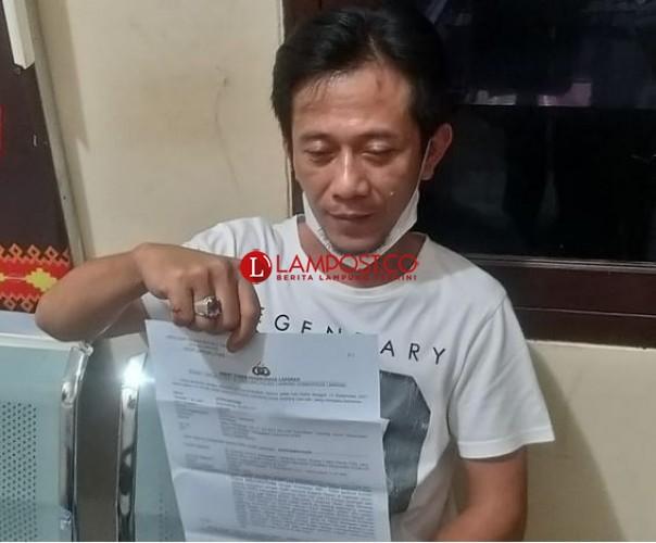Badan Kehormatan Panggil Ketua DPRD Lampura Pemukul Wartawan
