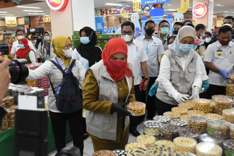 Bahan Pangan di Bandar Lampung Aman dari Bahan Berbahaya