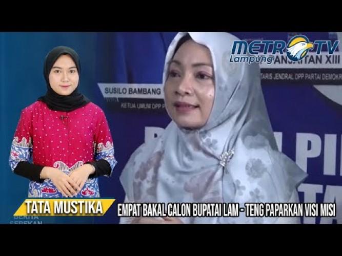 Bakal Calon Bupati Lampung Tengah Paparkan Visi Misi
