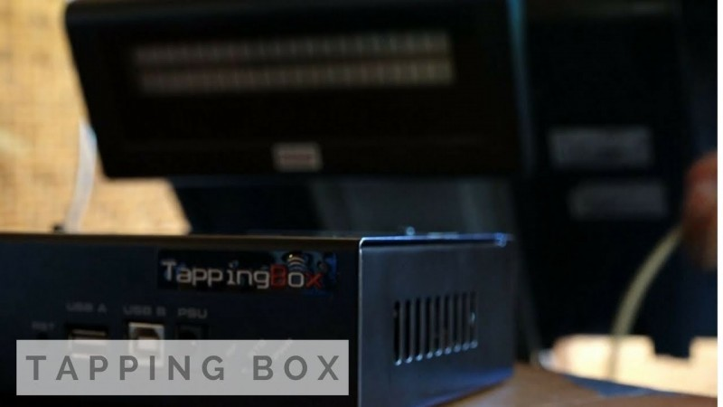 Bakso Sony di Pringsewu Dipasang Tapping Box