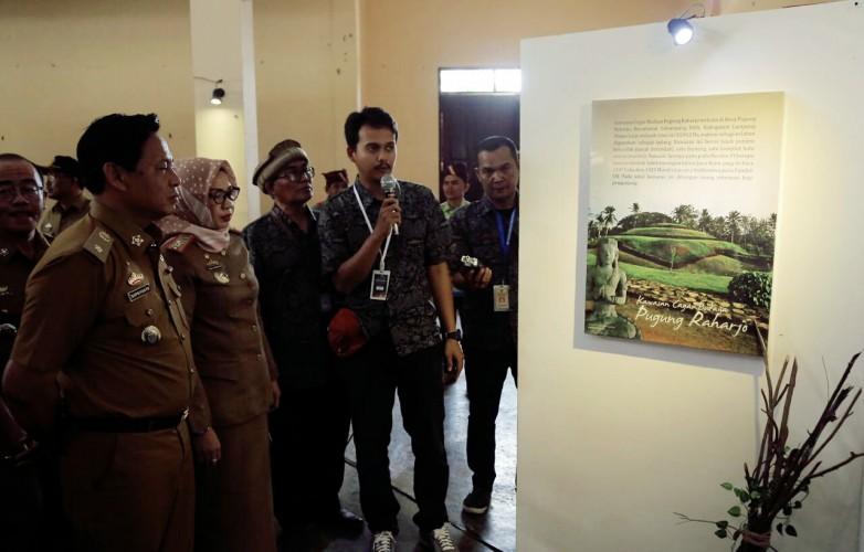 Balai Pelestarian Cagar Budaya Banten Gelar Pameran Cagar Budaya di Lamsel