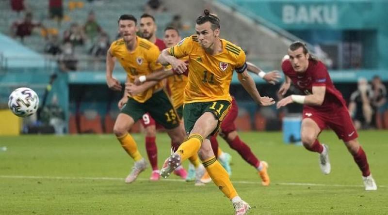 Bale Gagal Eksekusi Penalti, Wales Tetap Bungkam Turki