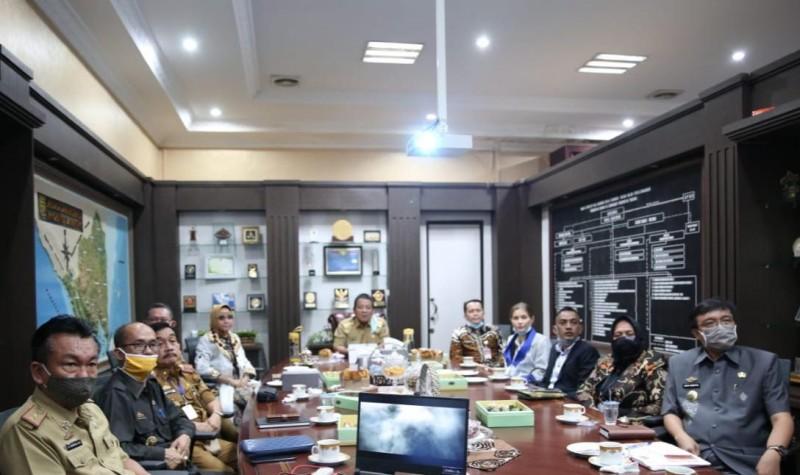 Balitbang Kemendagri Tinjau Sejumlah Lokasi di Lampung