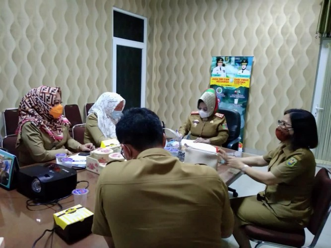 Bandar Lampung Jadi Perhatian Optimalisasi Penanganan Covid-19
