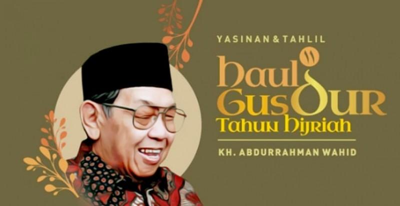 Doa Bersama Haul Ke-11 Gus Dur Dialihkan di Rumah Masing-masing