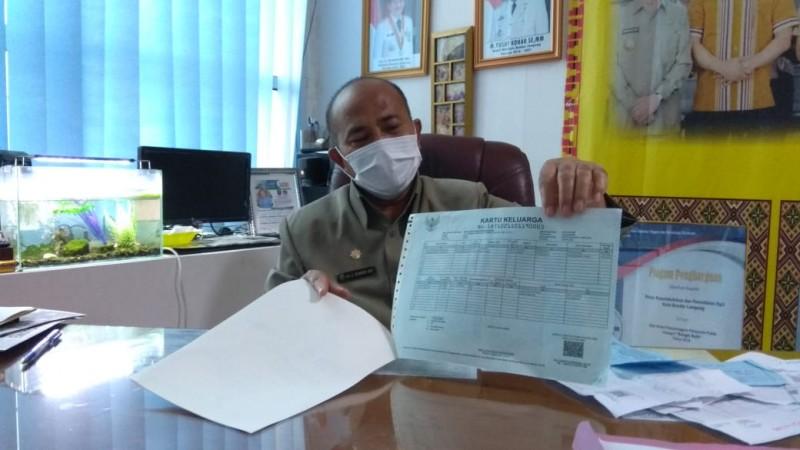 Bandar Lampung Mulai Gunakan Kertas A4 Cetak Dokumen Kependudukan