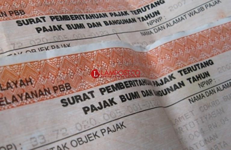 Target PBB Bandar Lampung Dipangkas Rp100 Miliar