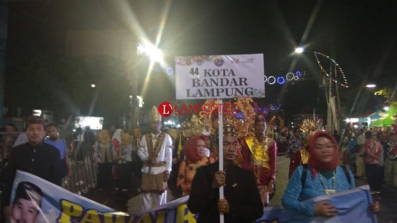 Bandar Lampung Turut Memeriahkan Semarang Night Carnival