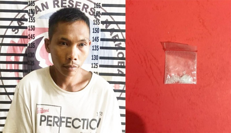Bandar Pemasok Sabu ke Rutan Menggala Ditangkap Polisi