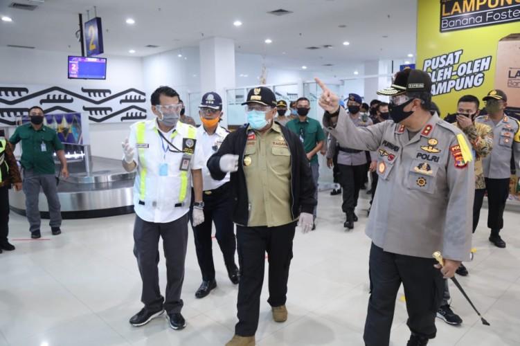 Bandara Raden Inten II Tingkatkan Kesiapsiagaan Covid-19