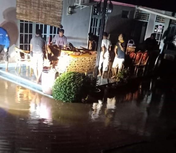 Banjir akibatkan Seribuan Rumah di Umbulkunci Tenggelam