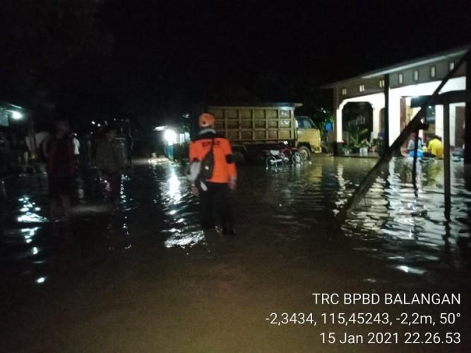 Banjir di Balangan Kalsel Rendam 3.571 Rumah