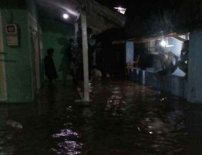 Banjir Pasar Ambon Merendam 17 RT di Dua Kelurahan