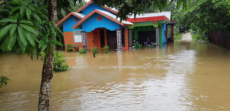 Banjir Rendam 17 Kecamatan di Aceh Utara, 4.605 Jiwa Mengungsi