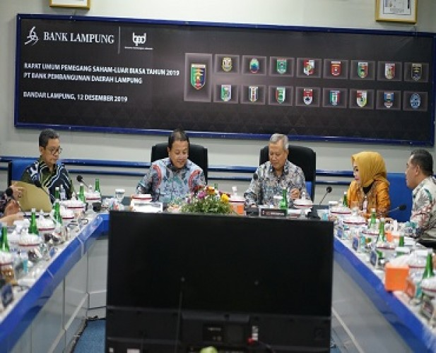 Bank Lampung Dorong Pemegang Saham Tambah Modal
