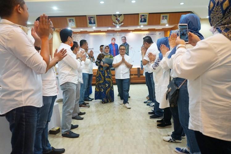 Bank Lampung Lepas Kepergian Dirut Eria Desemsoni