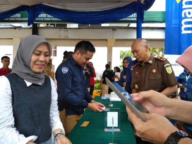 Bank Mandiri Buka PasarMurah di Jajaran Kejaksaan