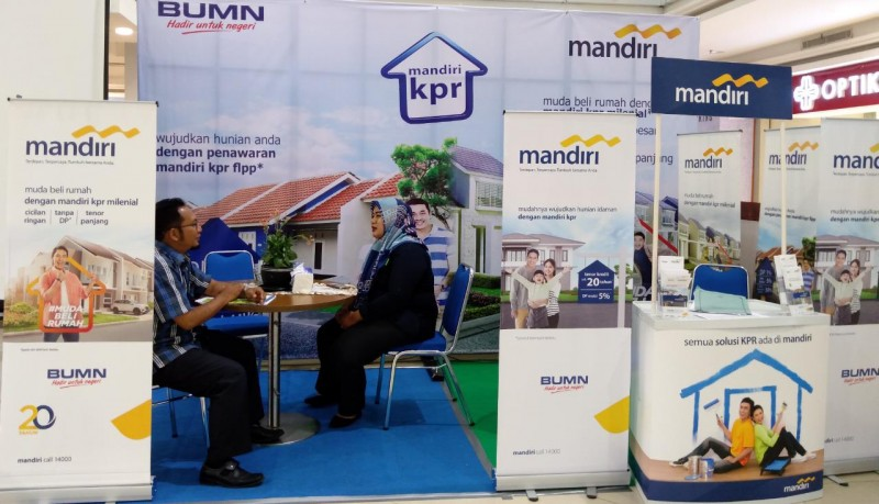 Bank Mandiri Permudah Kepemilikan Rumah di REI Expo