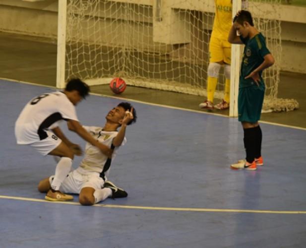 Banten Penentu Langkah Futsal Lampung ke PON 2020