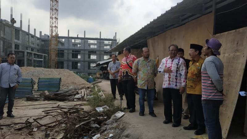 Bantu Pembangunan Kampus Itera, Herman HN Pantau Pengerjaan