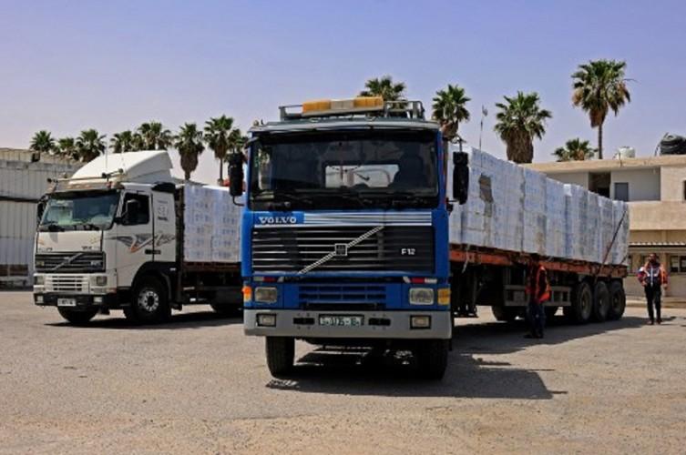 Bantuan Kemanusiaan Mulai Masuk ke Jalur Gaza