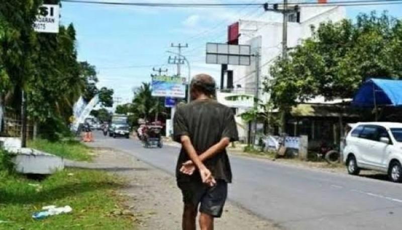 Banyak Orang Gila Berkeliaran Meresahkan Warga Bandar Lampung