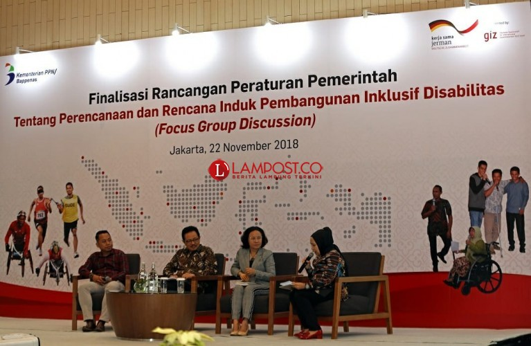 Bapenas Diskusi Finalisasi RPP Rencana Induk Pembangunan Inklusif Disabilitas