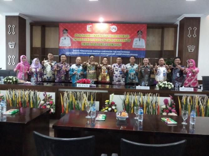 Bapenda Tulangbawang lakukan Implementasikan Sistem Administrasi Pendapatan Daerah