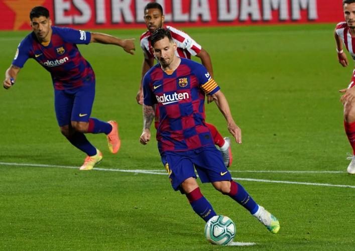 Barcelona Ditahan Imbang Atletico Madrid 2-2