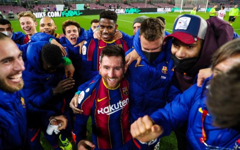 Barcelona Melenggang ke Final Copa del Rey