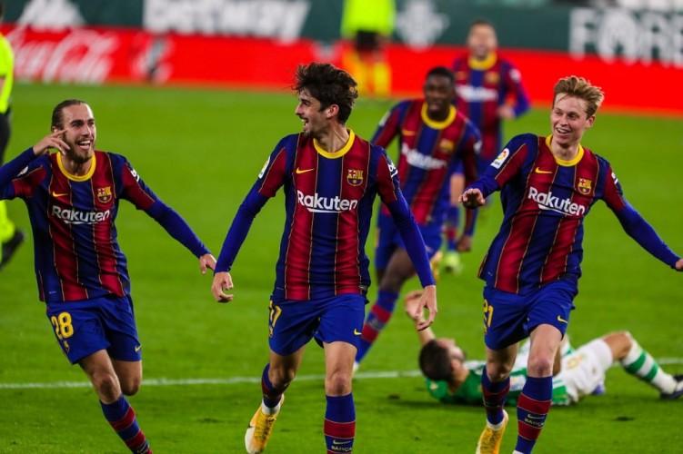 Barcelona Susah Payah Kalahkan Real Betis