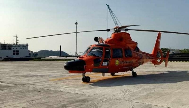 Basarnas Siagakan Helikopter dan KN SAR Basudewa di Pelabuhan Bakauheni