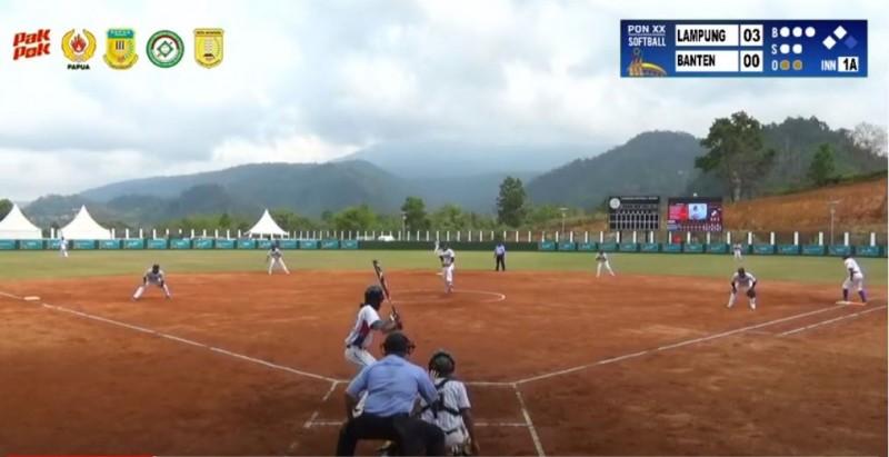 Baseball dan Softball Lampung Terus Raih Kemenangan di PON