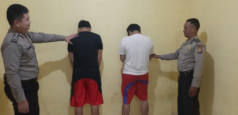 Bawa Sabu, Dua Warga Kampungbaru Ditangkap Polsek Sukarame