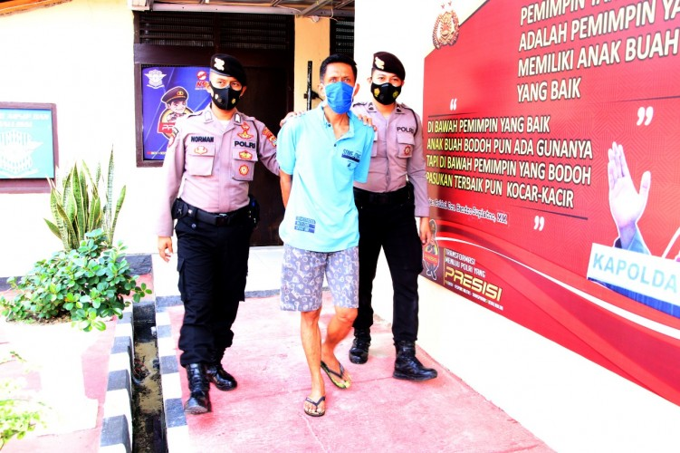 Satpam Rumah Sakit di Pringsewu Ditangkap Simpan Sabu
