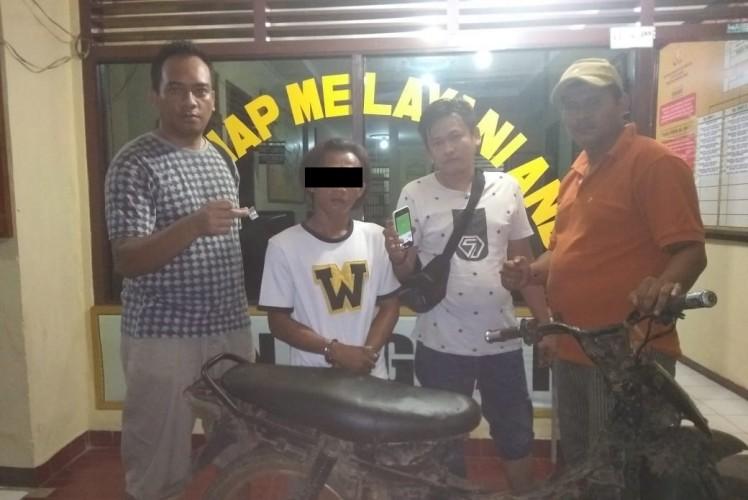 Bawa Sabu, Polisi Tangkap Pemuda Sungkai Utara