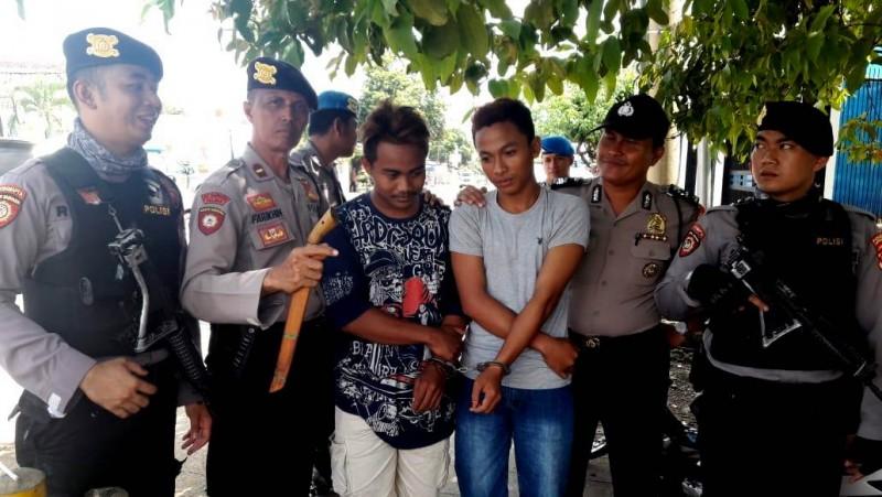Bawa Senjata Tajam, Dua Pemuda Diamankan Polisi