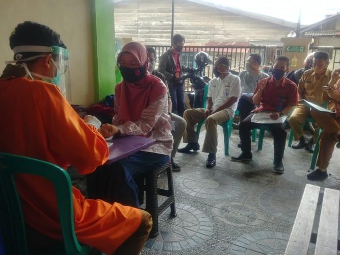 BawasluBandar Lampung Lakukan <i>Rapid Test</i>