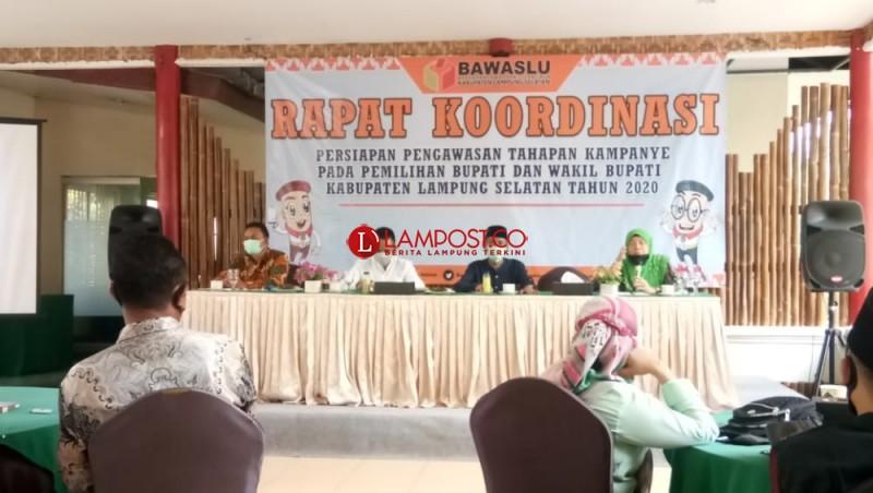 Bawaslu Lampung Dorong Kampanye Secara Online