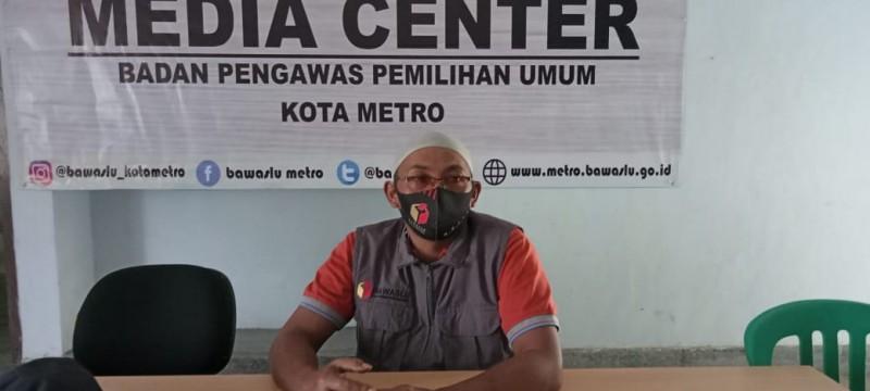 Bawaslu Metro Ingatkan Paslon agar Patuhi Protokol Kesehatan Selama Kampanye