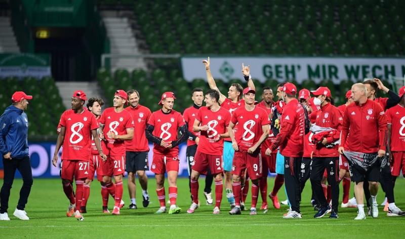 Bayern Muenchen Juara Bundesliga 2019--2020
