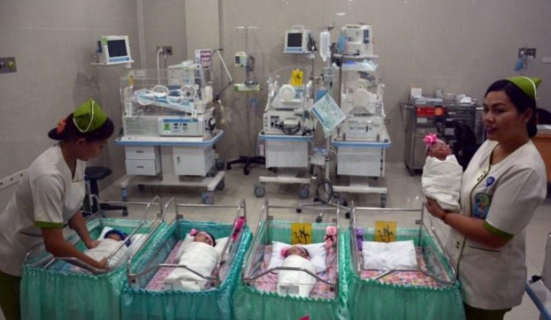 Bayi Kembar Empat di Denpasar Siap Pulang