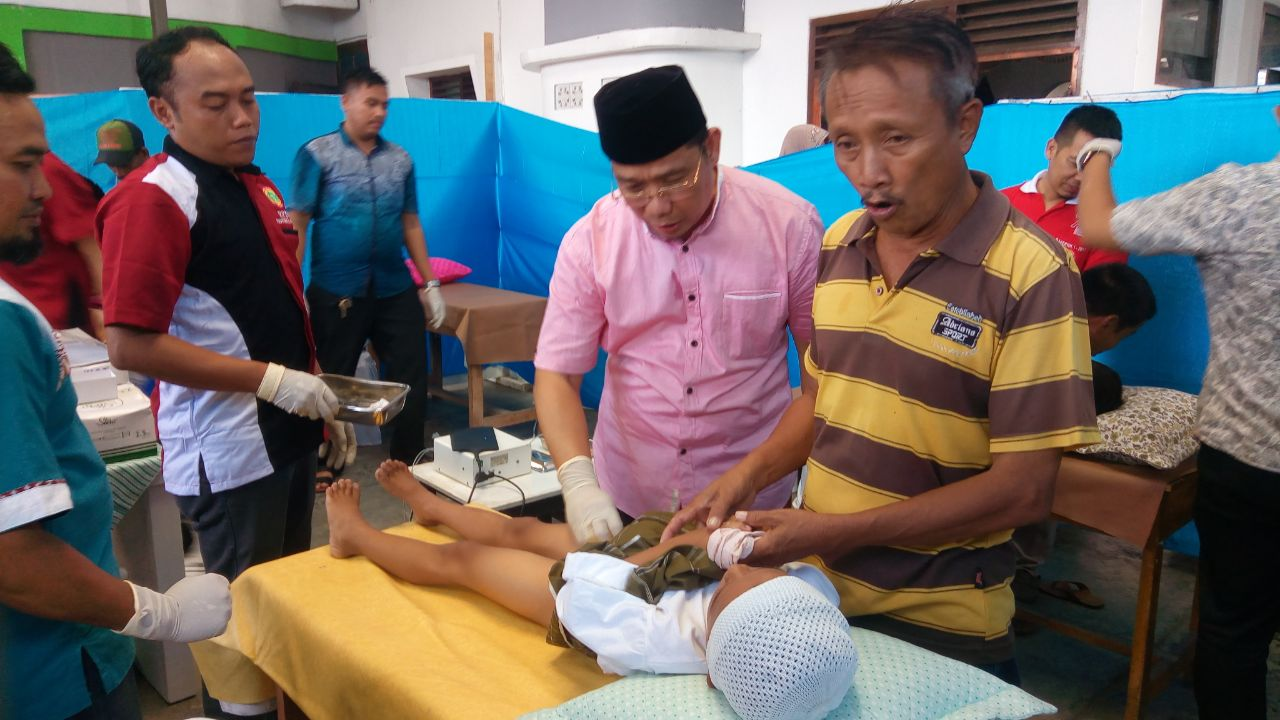 DPW TAMPIL Gelar Khitanan Massal buat 150 Anak